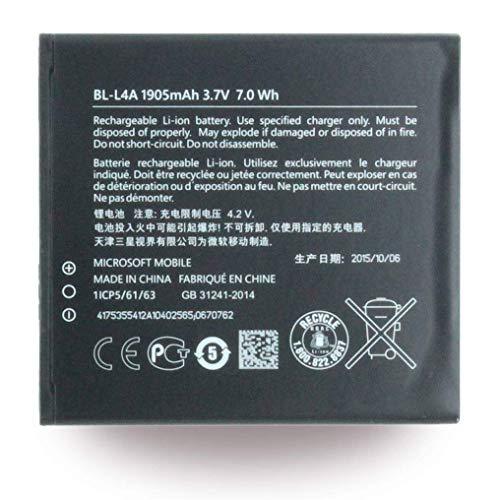 Microsoft Batteria di Ricambio Originale Lumia 535 BL-L4A 1905mAh