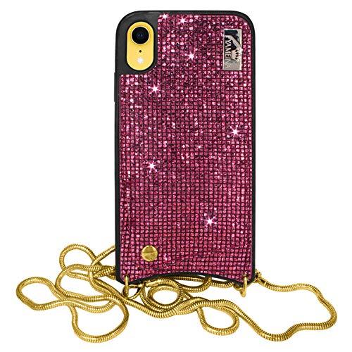 mtb more energy® Collar Star para Apple iPhone XR (6.1'') - Rosa...