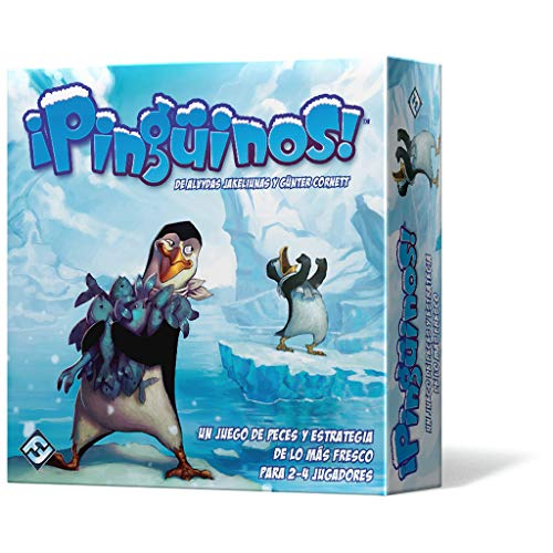 ¡Pingüinos! Pinguine. – Brettspiel (Edge Entertainment edgty05)