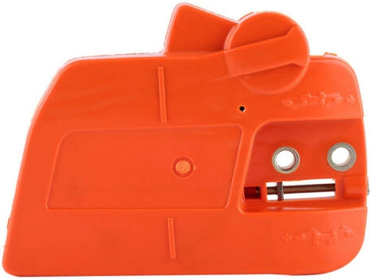 CFDYKRP Asamblea de Freno de Cadena de Cobertura de Cobertura de Piezas de Motosierra para Husqvarna 235 235E 236 240 Suministros de jardín de la Motosierra (Color : Orange)