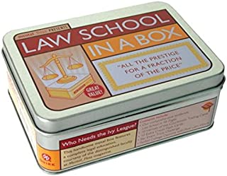 Law School in a Box( All the Prestige for a Fraction of the Price [With 96 Page TextbookWith Trading CardsWith Diploma and Exam TriviaWith Flashcards])[LAW SCHOOL IN A BOX][Other]