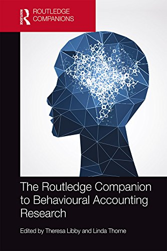 The Routledge Companion to Behavioural Accounting Research (Routledge Companions in Business, Manage