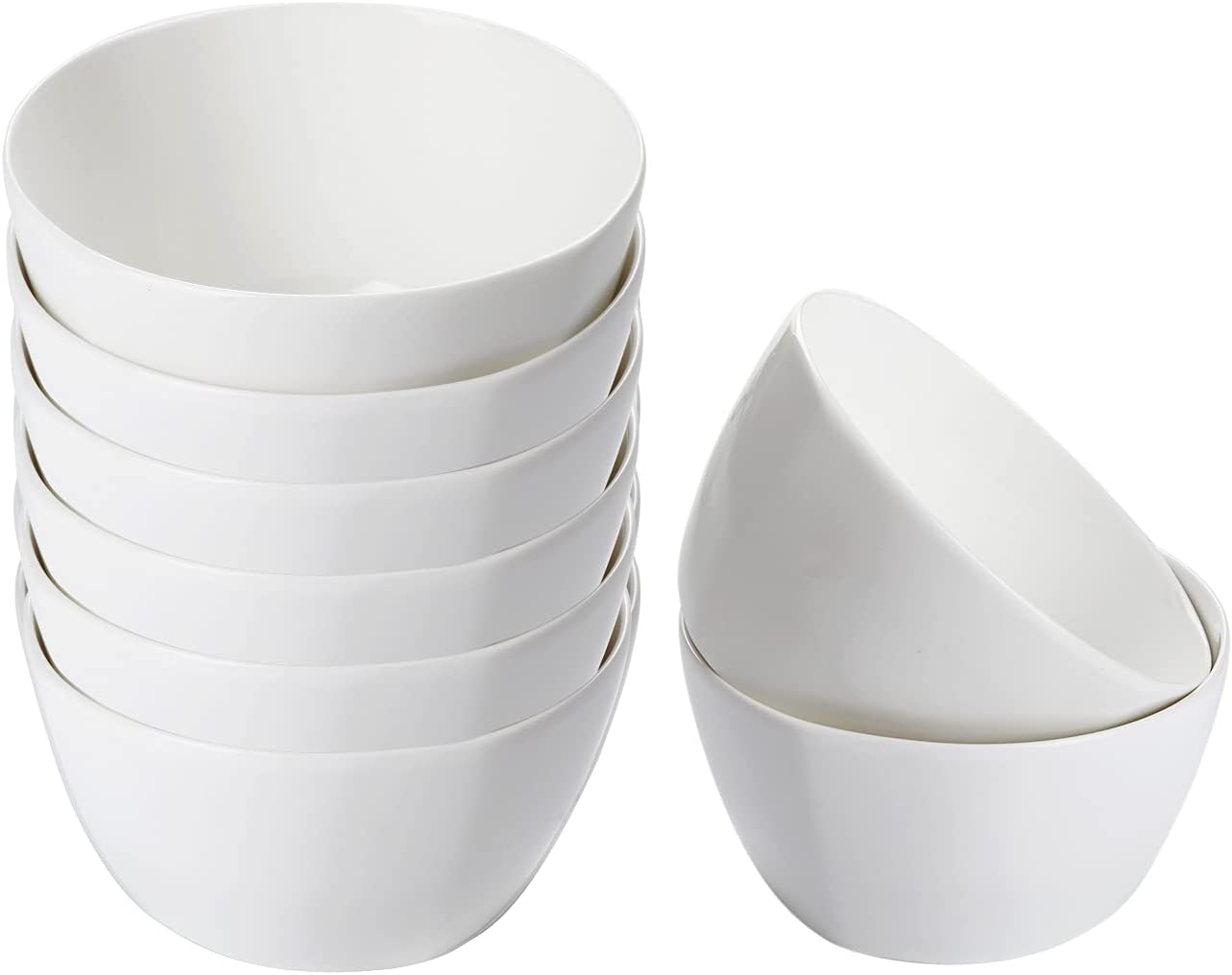 Accguan Ceramic Virginia Beach Mall Soup Bowls Surprise price Cereal 12 Set Ounce Bowl Chi
