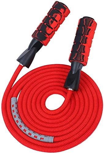 Huttoly Springseil Sport, Jump Rope Kinder 3.0M Speed Rope Seilspringen Fitness Für Fitness, Ausdauer & Abnehmen (schwarz)