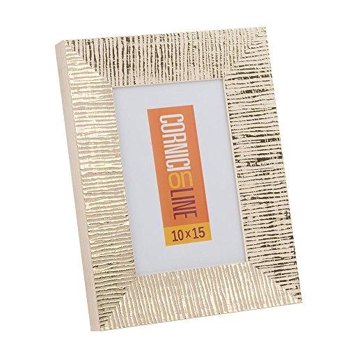 Cornici in legno 191 Oro Portafoto da Tavolo 20x30