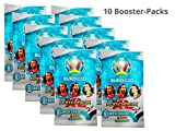 .Panini Adrenalyn XL - Euro 2020 - Booster mit je 8 Karten (10 Booster)