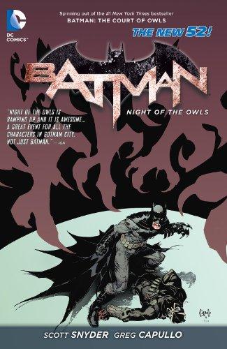 Batman: Night of the Owls (English Edition)