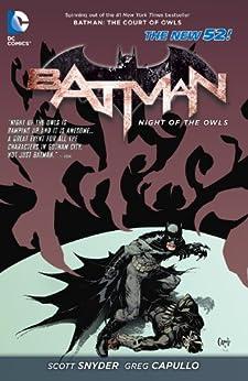 Batman: Night of the Owls by [Scott Snyder, Greg Capullo]