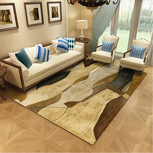 MLKUP Artificial Sheepskin Rug Imitate Wool Rug Fluffy Soft Long Hair Decoration 180x250cm