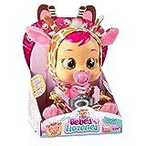 Bebés Llorones Gigi - Muñeca interactiva que llora de verdad con chupete y pijama de Jirafa
