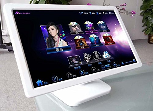 Best Buy! 19' LED IR touch screen for inandon karaoke machine,Table stand (White)