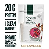 Natural Force Organic Whey Protein Powder 32 oz. Bulk...