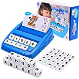 Toys for 3-8 Year Olds Boys Girls Matching Letter Game Educational Games Toys...
