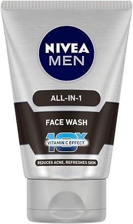 NIVEA MEN Face Wash, All-in-One, 100ml