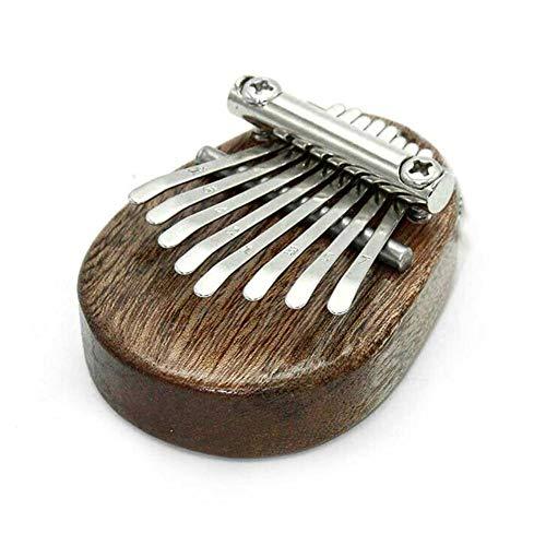 Mini Daumen-Klavier tragbare 8 Tasten Kalimba Finger Tastatur Musikinstrument Spielzeug Gedenkgeschenk für Klassenkameraden Kinder Erwachsene Anfänger