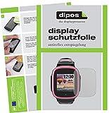 dipos I 5X Schutzfolie matt kompatibel mit Xplora X5 Play Bildschirmschutz-Folie