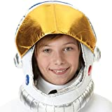 amscan 392103 Space Astronaut Silver Gold Helmet Costume, Child Size