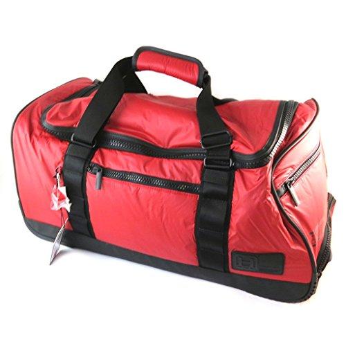 Hedgren [N9990] - Trolley-reisetasche \'Hedgren\' schwarz rot - 64x30x25 cm.