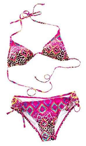 Chiemsee Bikini Cleo SMU rosa/Leopard L