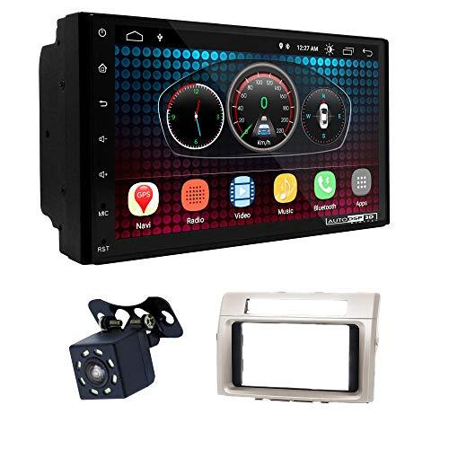 UGAR EX6 7' Android 6.0 DSP Navigazione GPS per Autoradio + 11-560 Kit di Montaggio Compatibile con Toyota Corolla Verso 2004-2009
