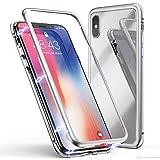 V MOBITE® iPhone X Super Ultra Slim Magnetic Back Case Back Cover