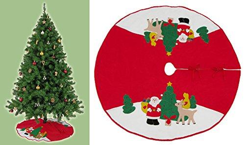 Best-Accessoires4All Weihnachtsdecke Weihnachtsbaumdecke Decke für Tannenbaum Unterlegdecke Baumdecke