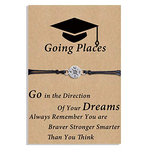 Graduation GIfts for Her 2022 Compass Bracelet Seniors College High...