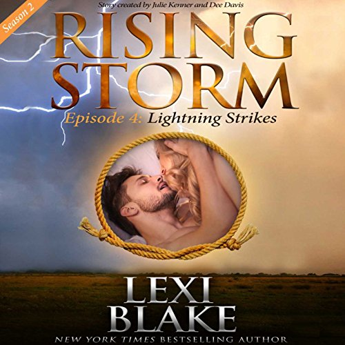 Lightning Strikes audiobook cover art