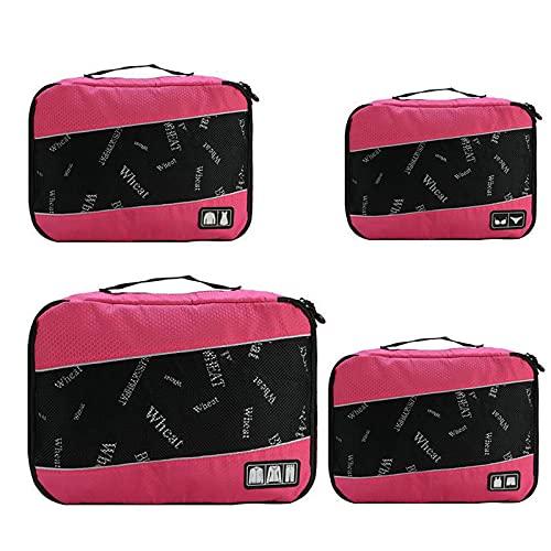 AIWKR Bolsas de almacenamiento de viaje, organizador de bolsas de almacenamiento de equipaje, para almacenamiento en casa de viaje
