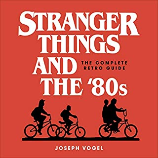 Stranger Things and the '80s audiobook cover art