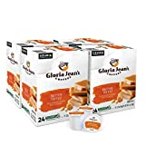 Gloria Jean's Coffees Butter Toffee, Single-Serve Keurig K-Cup Pods, Flavored Medium Roast Coffee, 96 Count