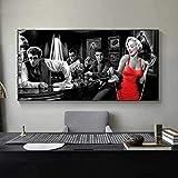 ZHOUING-- Poster Bild James Dean Marilyn Monroe Elvis