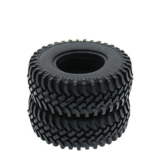 RCAWD 1,9 Zoll 100mm RC Reifen Gummireifen für Rc Crawler RC4WD Axial SCX10 D90 1,9