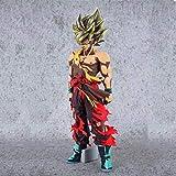 LLKOZZ Comic Farbe Spielzeug Statue Dragon Ball/Super One Goku Anime dekorative Ornamente / 34cm...