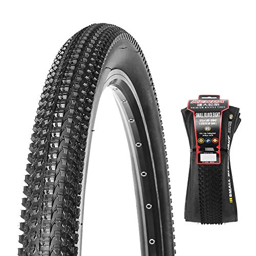 HULKWHEELS Mountain Bike tire 26/27/29 x 1.95/2.10 Tubeless MTB Bike Tire, Bicycle Cross Country Wire Bead Tires, Folding,Anti-Puncture, All Terrain, Drainage, Non-Slip and Durable (26 x 1.95
