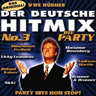 Party Mixes für Discofox (Compilation CD, 11 Tracks)