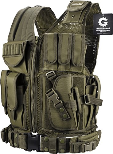 Barska Optics BI12332 VX-200 Tactical Vest, Green