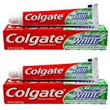 Colgate Sparkling White Mint Zing 2.8 Oz Travel Size (2 Pack)