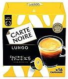 Carte Noire Café Lungo - 96 capsules (6 packs de 16) compatibles Dolce Gusto