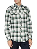 G-STAR RAW 3301 Slim Camisa, Cheque Jacob de la Selva C417-B
