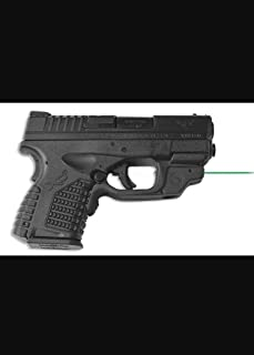 CRIMSON TRACE Springfield Armory XD-S Laserguard with Green Laser