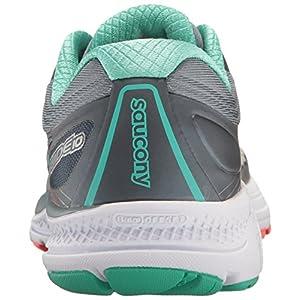 Saucony Women's Guide 10 Running Shoe, Grey Teal, 9 Medium US