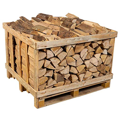 Logpile Kiln Dried Hardwood Firewood Logs. 400 Kg. Suitable for All Stoves, Fireplaces and Fires. Ready to Burn Accredited and Sustainably Sourced.