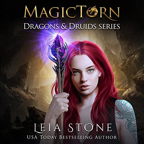 Magictorn     Dragons and Druids, Book 3              Written by:                                                                                                                                 Leia Stone                               Narrated by:                                                                                                                                 Vanessa Moyen                      Length: 5 hrs and 16 mins     5 ratings     Overall 4.6