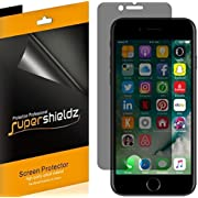 [2 Pack] Supershieldz- Privacy Anti-Spy Screen Protector Shield for iPhone 8 Plus -Lifetime Replacements Warranty