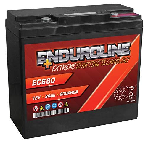 Enduroline EC680 AGM Batterie 26Ah 600A (PC680)