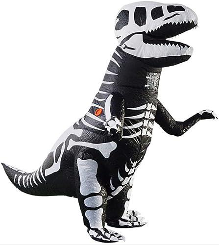 tiempo libre CLCYL Traje Inflable de Dinosaurio Infantil Traje de Dinosaurio Dinosaurio Dinosaurio Inflable T Rex Niños Halloween Cosplay Tyrannosaurus Rex Tyrannosaurus Traje de la Etapa del Padre e Hijo Trajes  diseños exclusivos