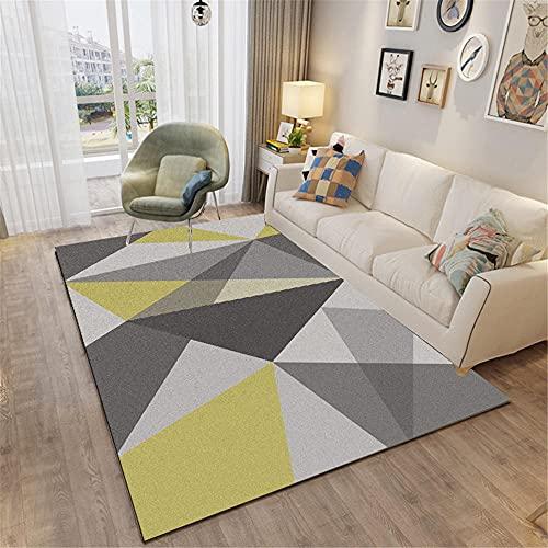 Alfombra Terraza Exterior Gris Negro Decoracion hogar Moderno Salon Alfombra Decorativa Moderna...