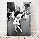nr Auf dem Times Square Kiss Nordic Leinwand und Poster New