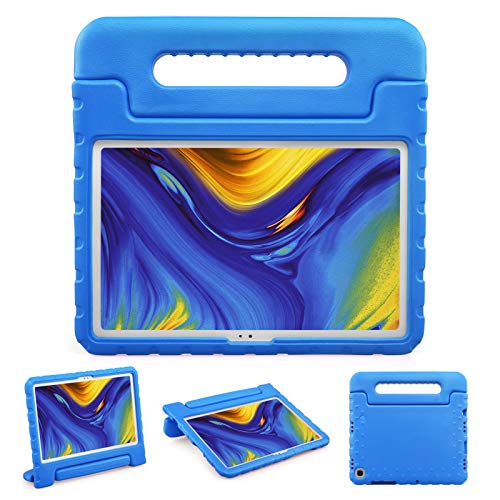 BelleStyle Funda Niños para Samsung Galaxy Tab A7 10.4 Pulgada SM-T500 SM-T505 SM-T507 2020 Tableta, A Prueba de Choques Ligero Estuche Protector Manija Caso Soporte para Galaxy Tab A7 10.4' (Azul)